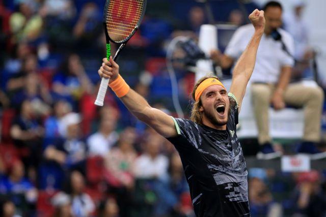Τσιτσιπάς : Με Φέντερερ στα ημιτελικά του ATP Finals | tanea.gr