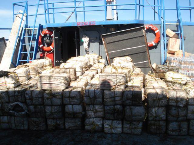 Ουρουγουάη : Τόνοι κοκαΐνης βρέθηκαν μέσα σε κοντέινερ με αλεύρι | tanea.gr
