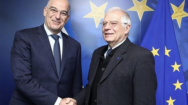 Συνάντηση Δένδια-Μπορέλ: Στο επίκεντρο η συμφωνία Τουρκίας - Λιβύης   tanea.gr