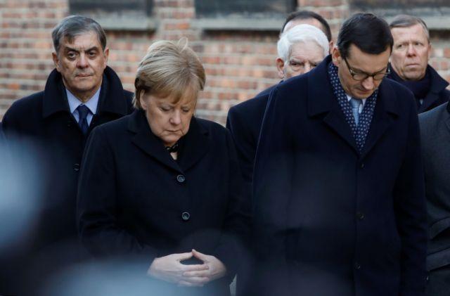 Μέρκελ : Παραπάτησε και κατά την επίσκεψη στο Αουσβιτς | tanea.gr