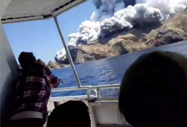 Έκρηξη ηφαιστείου στη Νέα Ζηλανδία : Κανένα ίχνος ζωής | tanea.gr