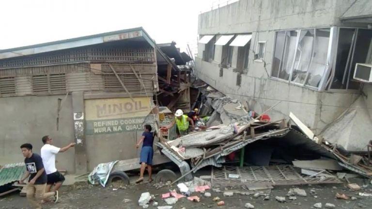 Φιλιππίνες : Εξάχρονο κορίτσι καταπλακώθηκε από τοίχο | tanea.gr