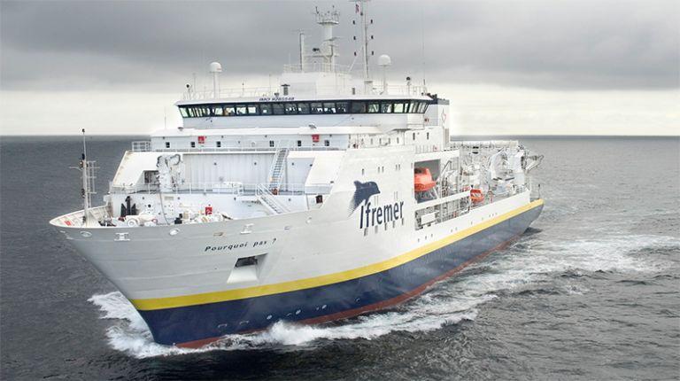 Γαλλικό ωκεανογραφικό σκάφος για έρευνες στην Κρήτη   tanea.gr