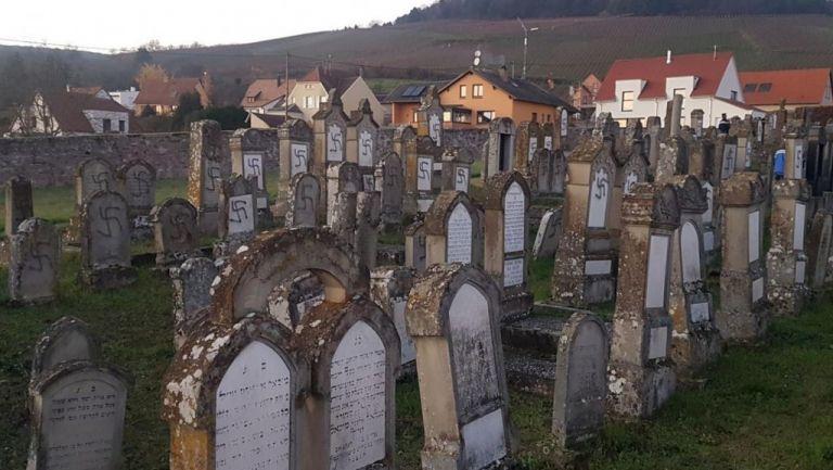 Νέο κρούσμα αντισημιτισμού : Βεβήλωσαν εβραϊκό νεκροταφείο στη Γαλλία | tanea.gr