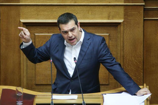 Τσίπρας : Ο εκλογικός νόμος της ΝΔ τορπιλίζει τη συναίνεση | tanea.gr