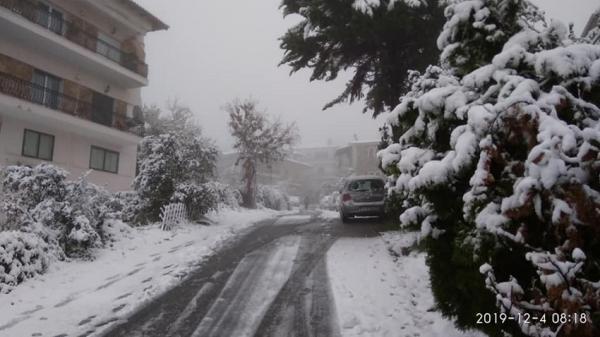 Ο «Ηφαιστίων» προ των πυλών - Έρχεται ραγδαία πτώση της θερμοκρασίας, καταιγίδες και χιόνια | tanea.gr