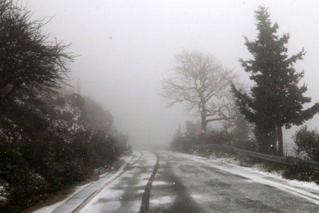 Κακοκαιρία «Ηφαιστίων»: Προβλήματα στους δρόμους της χώρας | tanea.gr