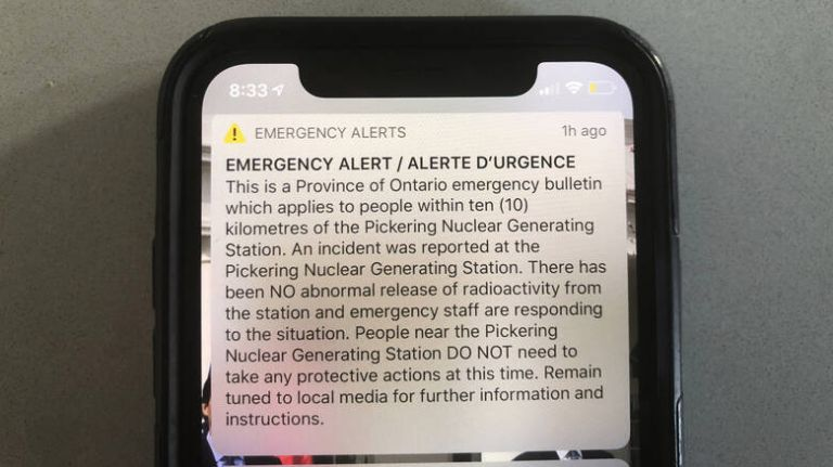 Κατά λάθος συναγερμός για «περιστατικό» σε πυρηνικό σταθμό στον Καναδά   tanea.gr