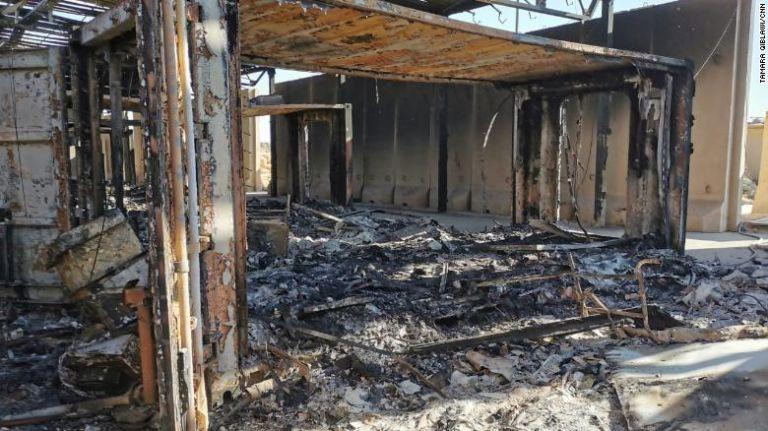 Εικόνες από τη βομβαρδισμένη αμερικανική βάση στο Ιράκ | tanea.gr