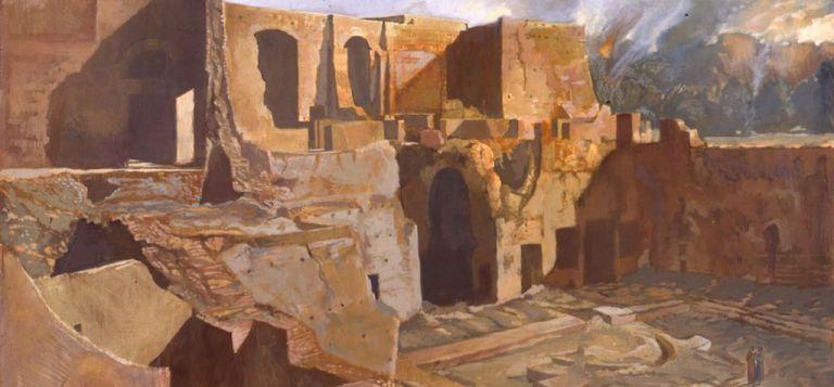 Τα «Μυθιστορικά» του Αλέκου Λεβίδη στην Πινακοθήκη Γκίκα | tanea.gr