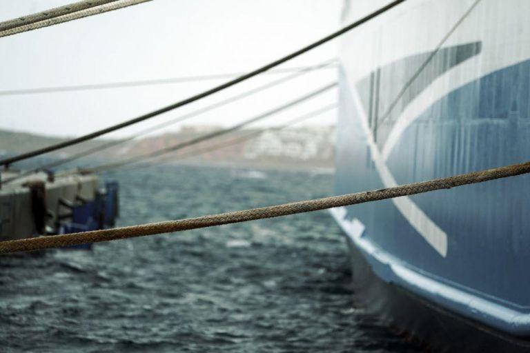 Σε ποια λιμάνια είναι δεμένα τα πλοία - 11 μποφόρ στο Αιγαίο | tanea.gr