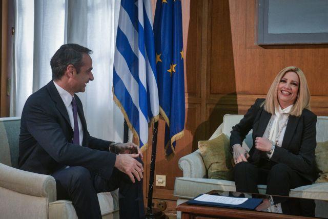 Μητσοτάκης και Γεννηματά διαφώνησαν για εκλογικό νόμο, συμφώνησαν για Χάγη | tanea.gr