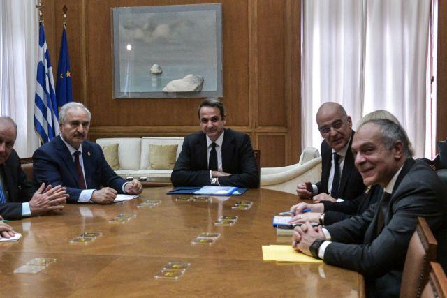 Χαφτάρ σε Μητσοτάκη: Άκυρα τα μνημόνια Σάρατζ – Ερντογάν - Δεν έχει τη νομιμοποίηση | tanea.gr