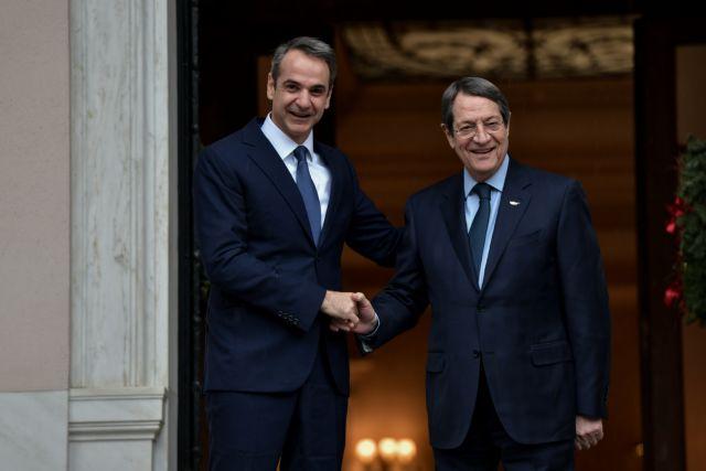 Λίγο πριν τις υπογραφές για τον EastMed - Μητσοτάκης: Σημαντική ημέρα για Ελλάδα, Κύπρο και Ισραήλ | tanea.gr