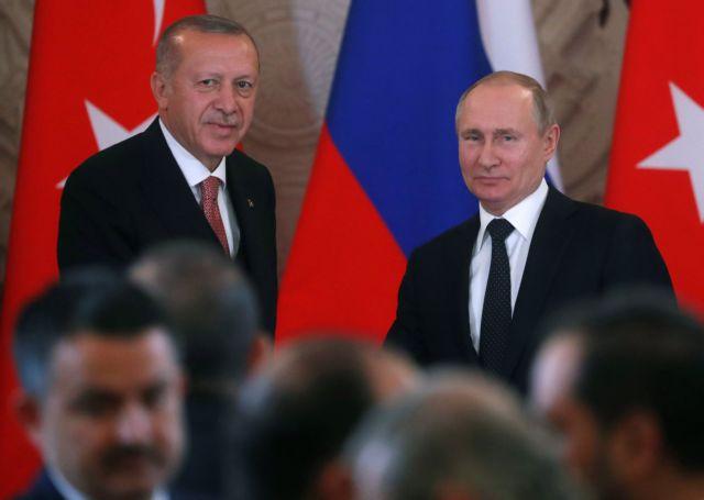 Πούτιν και Ερντογάν εγκαινιάζουν την Τετάρτη τον Turkish Stream   tanea.gr