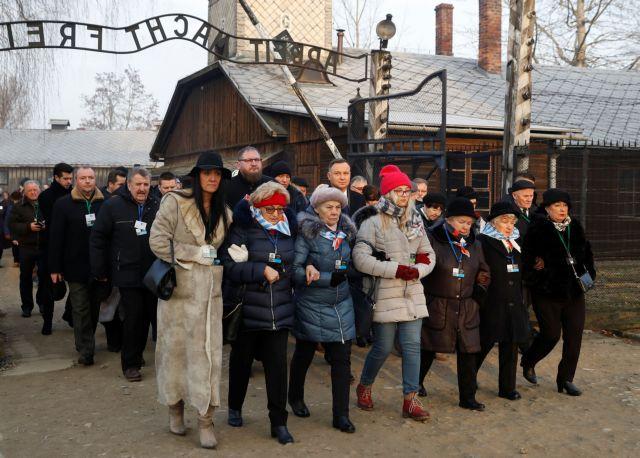 Επιζώντες του Άουσβιτς επιστρέφουν 75 χρόνια μετά την απελευθέρωση   tanea.gr