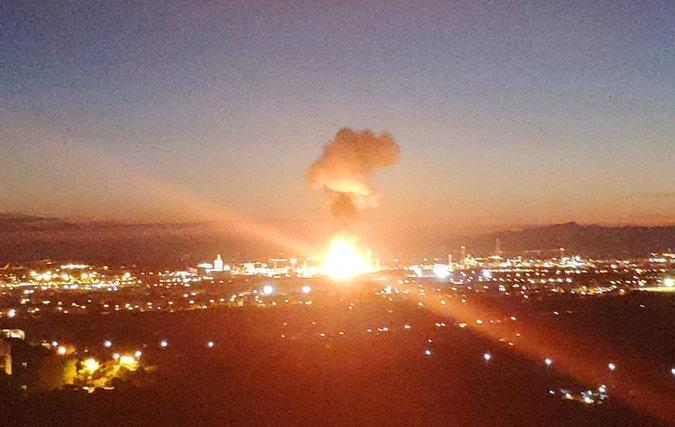 Ισπανία: Ισχυρή έκρηξη σε εργοστάσιο χημικών στην Ταραγόνα | tanea.gr