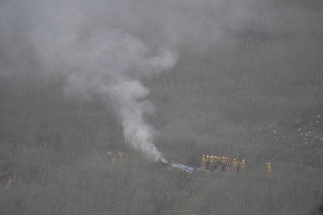 Κόμπι Μπράιαντ: Οι πρώτες εικόνες από το δυστύχημα με το ελικόπτερο   tanea.gr
