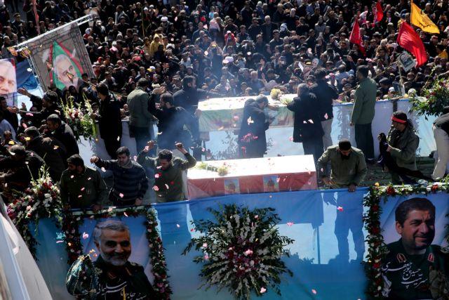 Κηδεία του Σουλεϊμανί: Ποδοπατήθηκαν πολίτες, πάνω από 35 νεκροί (σκληρά βίντεο)   tanea.gr