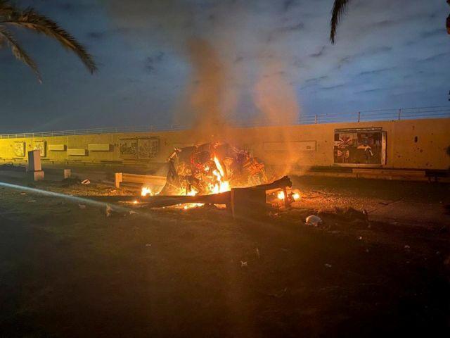 Σουλεϊμανί : Βίντεο-ντοκουμέντο με τον πύραυλο των ΗΠΑ να χτυπά το όχημά του   tanea.gr