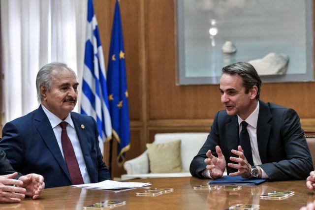 Χαφτάρ σε Μητσοτάκη : Είμαστε φιλειρηνιστές, ήρθαμε να συζητήσουμε για την ειρήνη | tanea.gr