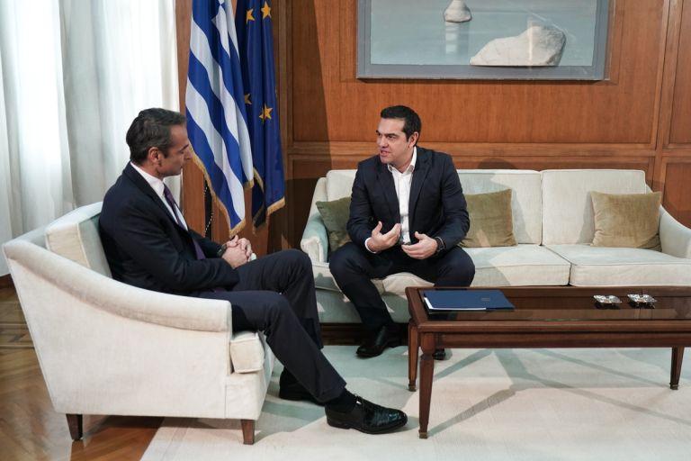 Συνάντηση Μητσοτάκη με Τσίπρα: Τι είπαν για εθνικά θέματα και Παυλόπουλο | tanea.gr