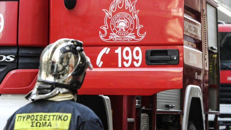 Φωτιά σε απορριμματοφόρο στη Βασιλίσσης Σοφίας | tanea.gr