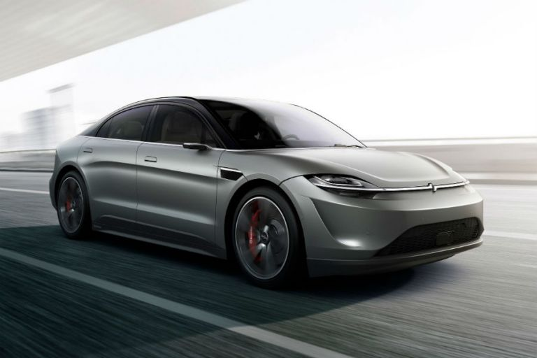 Η Sony παρουσίασε το πρώτο αυτοκίνητο της που είναι ηλεκτρικό | tanea.gr