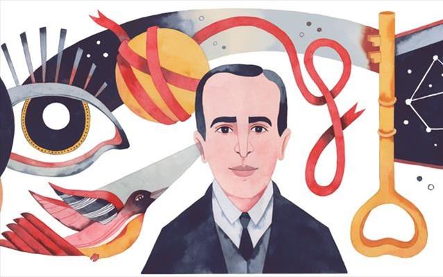 Vicente Huidobro : H Google τιμά με doodle τον Χιλιανό ποιητή | tanea.gr
