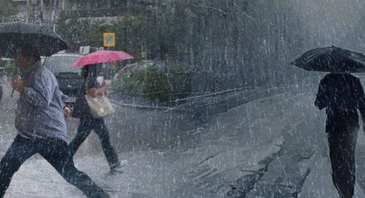 Βροχές και καταιγίδες σε όλη τη χώρα   tanea.gr