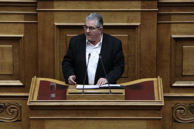 Κουτσούμπας : Τελειωτικό χτύπημα στο ασφαλιστικό το νομοσχέδιο Βρούτση | tanea.gr
