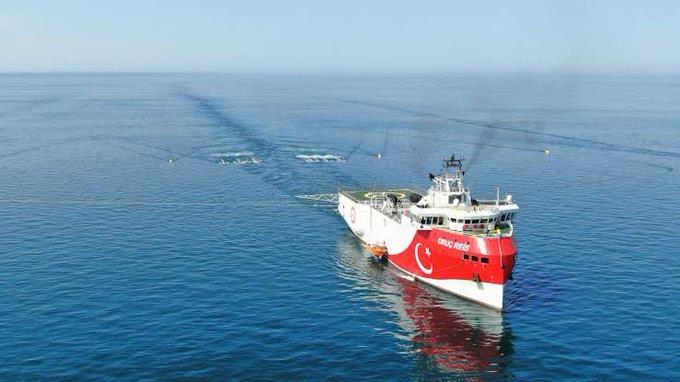 Το «ORUC REIS»  εξήλθε της ελληνικής υφαλοκρηπίδας - Παρακολουθείται από το Πολεμικό Ναυτικό | tanea.gr
