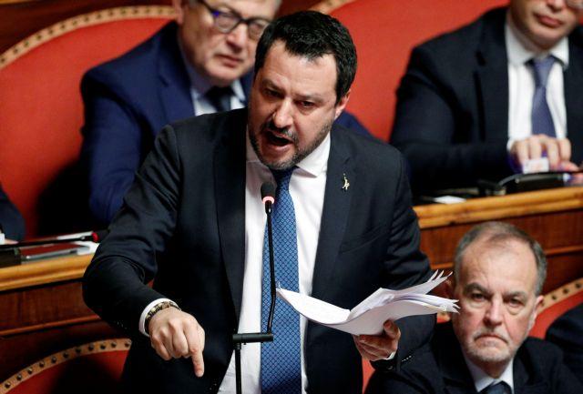 Ιταλία: «Ναι» από τη Γερουσία σε παραπομπή του Σαλβίνι σε δίκη   tanea.gr