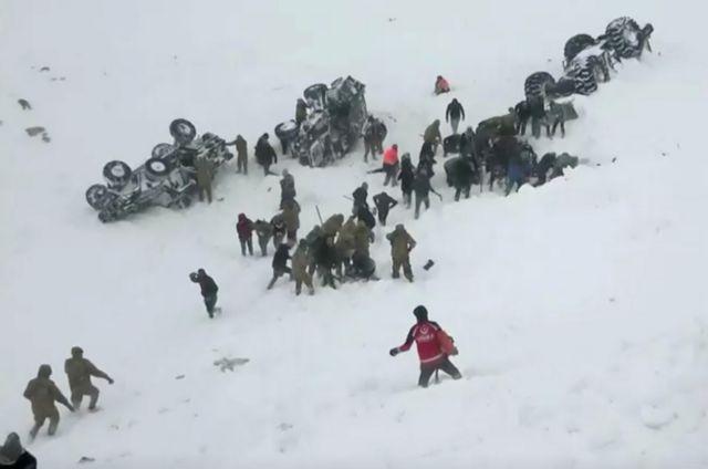 Τουρκία : 41 νεκροί και 75 τραυματίες από τις χιονοστιβάδες στην επαρχία Βαν | tanea.gr