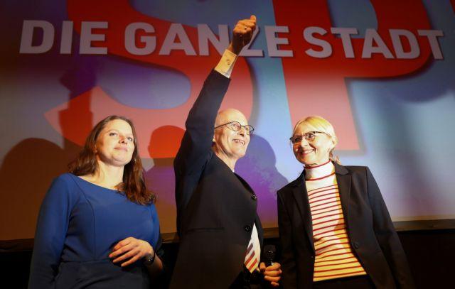 Αμβούργο: Νίκη SPD, εντυπωσιακή άνοδος Πρασίνων και ιστορικό χαμηλό για CDU | tanea.gr
