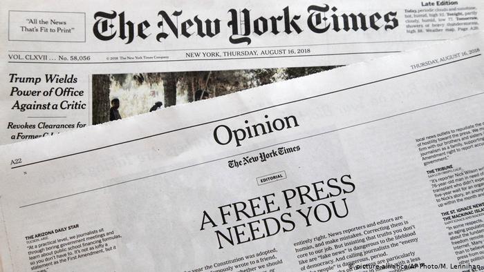 Ο λαϊκισμός του Τραμπ ενισχύει τις πωλήσεις εφημερίδων | tanea.gr