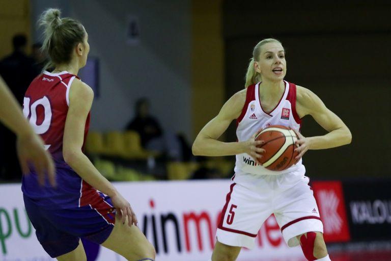 Ολυμπιακός- Σπόρτινγκ 114-54 | tanea.gr