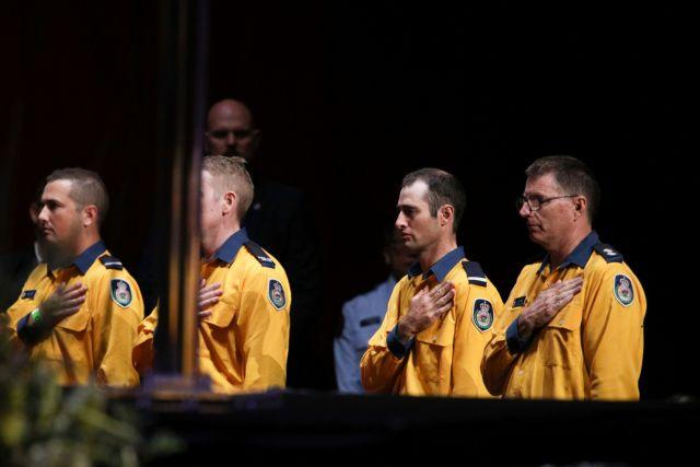 Αυστραλία : Εκδήλωση στη μνήμη των 25 νεκρών από τις πυρκαγιές   tanea.gr