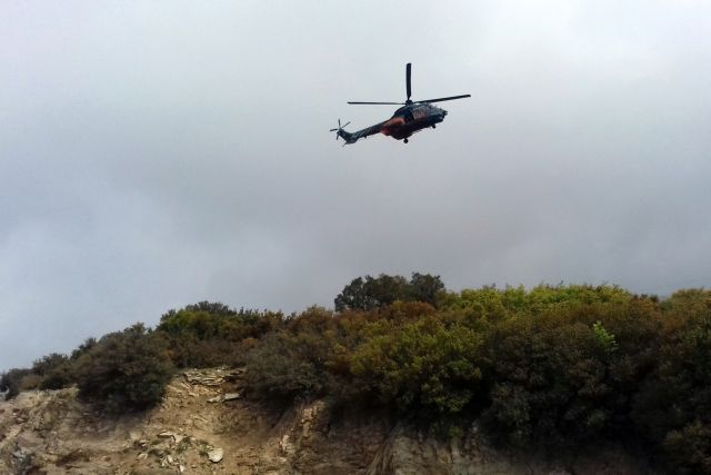 Κινητοποίηση για «εξαφανισμένο» ελικόπτερο στα Οινόφυτα | tanea.gr