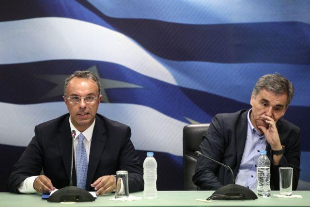 Πόλεμος Σταϊκούρα – Τσακαλώτου για τράπεζες και πλειστηριασμούς α' κατοικίας | tanea.gr