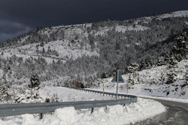 Η τριήμερη κακοκαιρία του Φεβρουαρίου αύξησε σημαντικά τη χιονοκάλυψη της Ελλάδας | tanea.gr