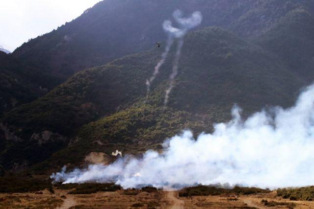 Κοινή ελληνοαμερικανική άσκηση πυρών ελικοπτέρων στο Λιτόχωρο | tanea.gr