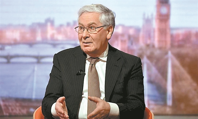 Διαψεύδει Βαρουφάκη ο Λόρδος Κινγκ : «Δεν μου έγινε πρόταση για την Τράπεζα της Ελλάδος» | tanea.gr