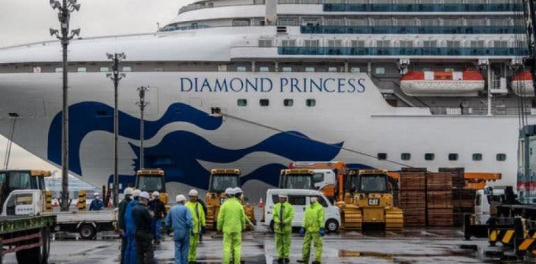 Αποκλειστικό MEGA : Οι Έλληνες μιλούν από τη «φυλακή» του Diamond Princess   tanea.gr