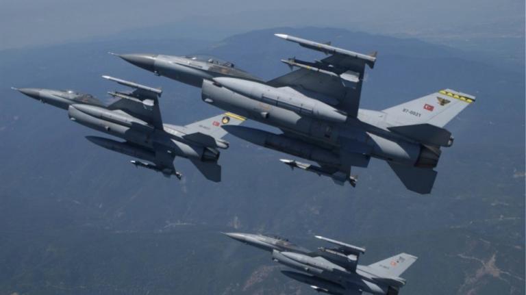 Υπερπτήση τουρκικών F-16 πάνω από το Αγαθονήσι   tanea.gr