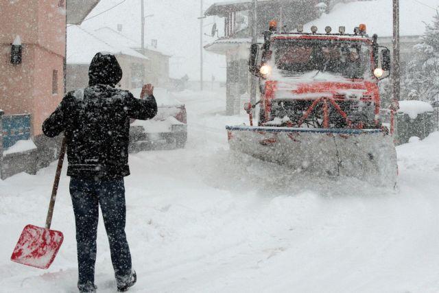 Καιρός: Ερχεται χιονιάς με ραγδαία πτώση της θερμοκρασίας | tanea.gr