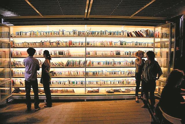 Οι άστεγοι βρίσκουν στέγη στα... βιβλία | tanea.gr