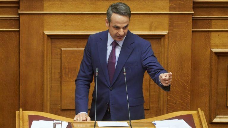 Μητσοτάκης στη Βουλή : «Απαντήσεις σε όλα τα ψέματα του κ. Τσίπρα για τα εργασιακά» | tanea.gr