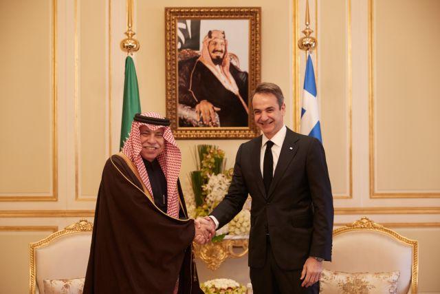 Προσκλητήριο επενδύσεων από Μητσοτάκη στη Σαουδική Αραβία | tanea.gr