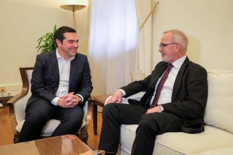 Τσίπρας και Χόγιερ συμφώνησαν σε χρηματοδότηση της ΕΤΕπ για την απολιγνιτοποίηση της Δ. Μακεδονίας | tanea.gr